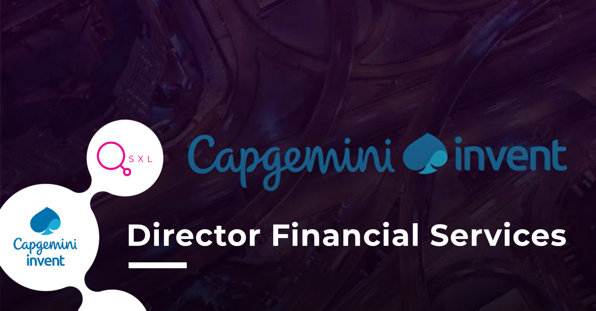 Capgemini - Director Financial Services Image