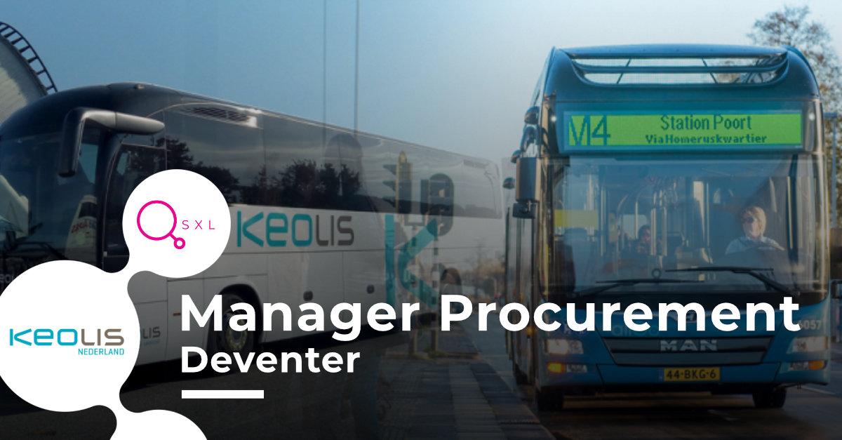 Keolis - Manager Procurement Image