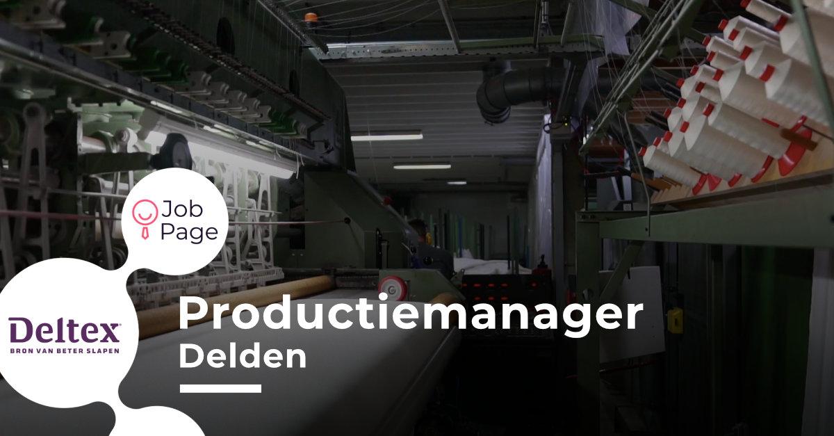 Deltex - Productiemanager Image